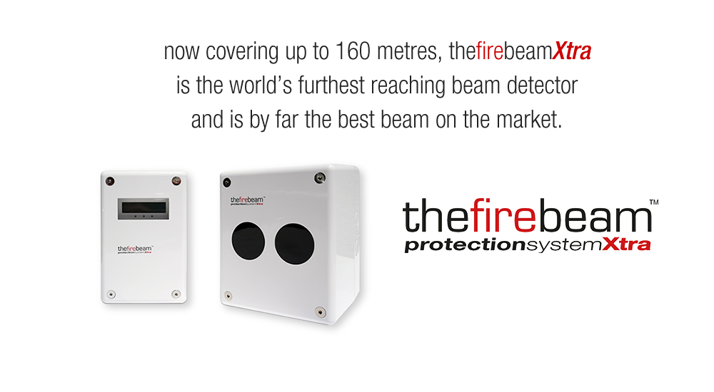 Now covering up to 160 metres, The Fire Beam Xtra is the worlds furthest reaching beam detector and is by far the best beam on the market.